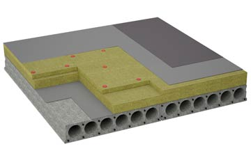 considerations of Auchinairn flat roofing insulation