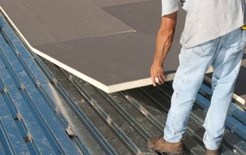 benefits of insulating Auchinairn flat roofing